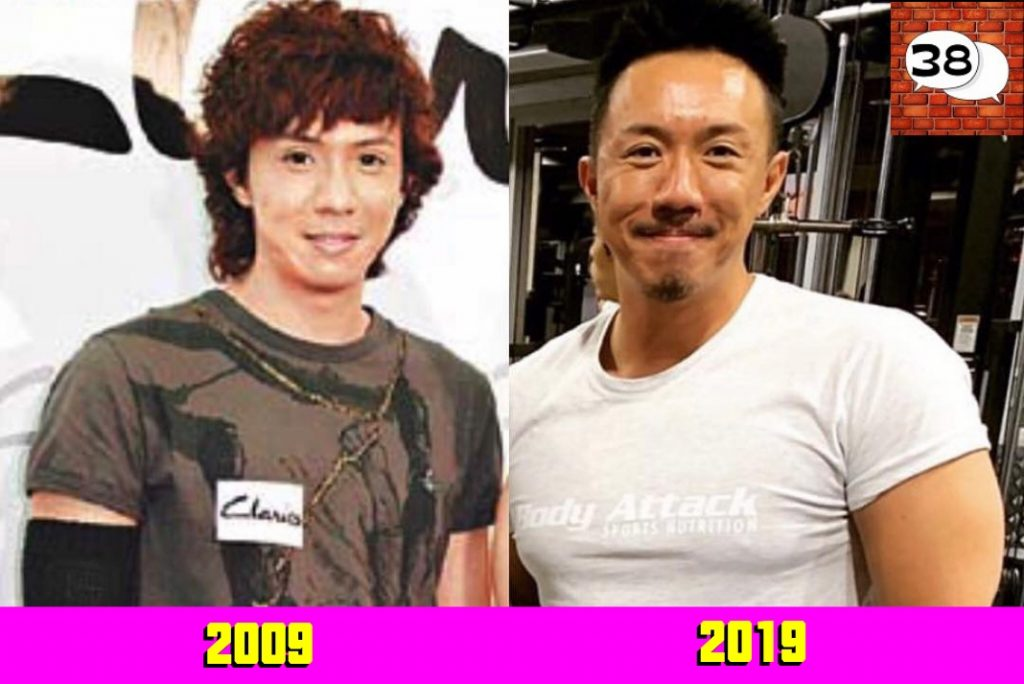 张继聪 (Louis Cheung) 2009 2019 #10yearschallenge