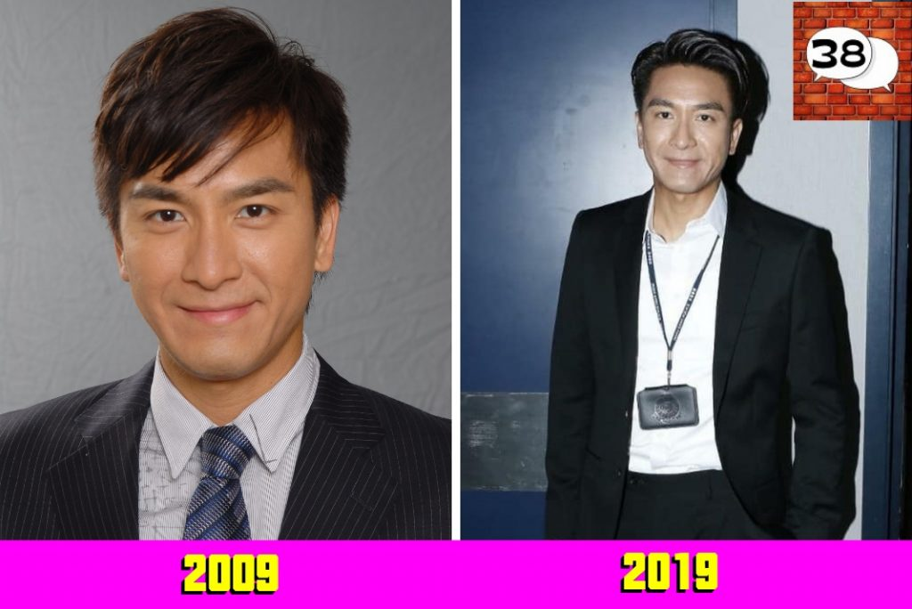 马国明 (Kenneth Ma) 2009 2019 #10yearschallenge