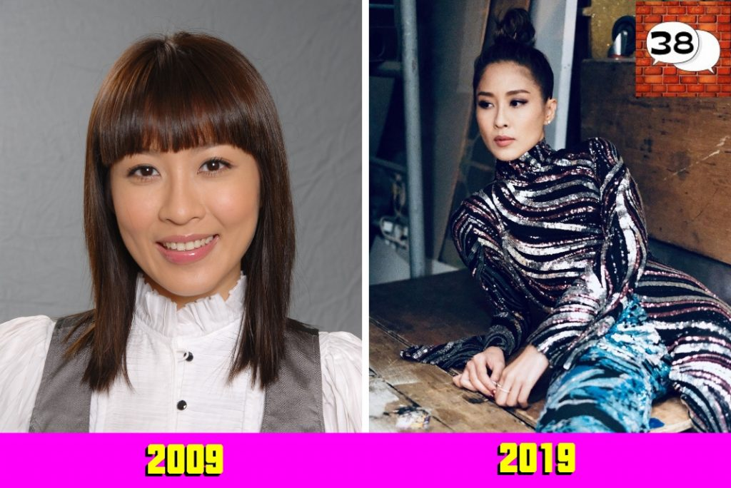 陈敏之 (Sharon Chan) 2009 2019 #10yearschallenge