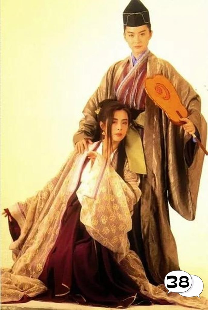 Joey Wong, Brigitte Lin, The East Is Red, hk artist, Taiwanese artist, tvb