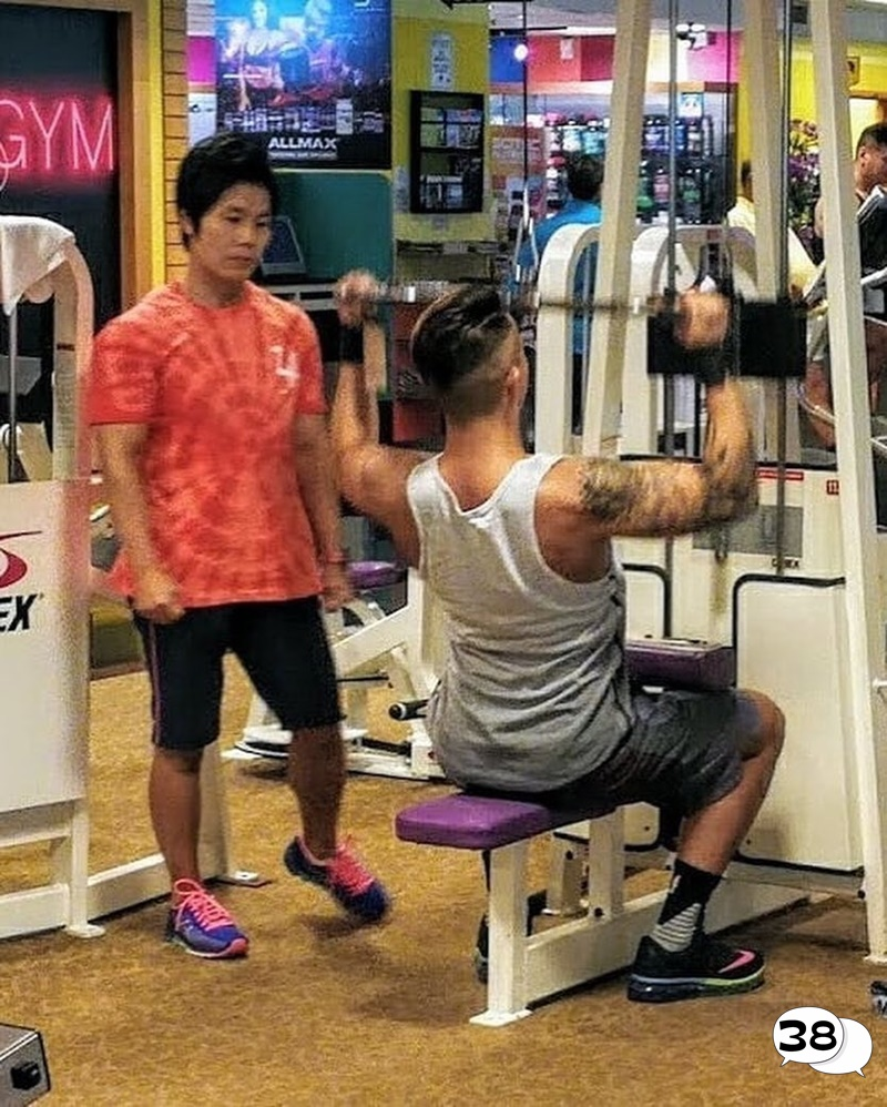 Louis Cheung Gym Fit Back 3