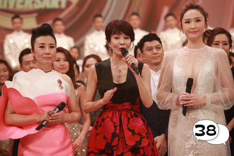 Tvb, 52 Years Celebration, hong kong, Liza Wong, Carol Cheng, Janis Chan